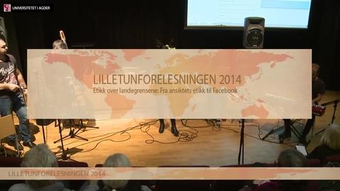 Thumbnail for entry Lilletunforelesningen 2014