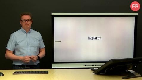 Thumbnail for entry Interaktiv tavle