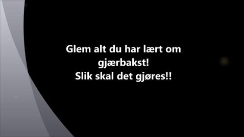 Thumbnail for entry Søt gjærbakst