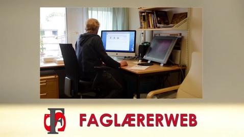 Thumbnail for entry Faglærerweb