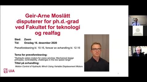 Thumbnail for entry Disputas Geir-Arne Moslått