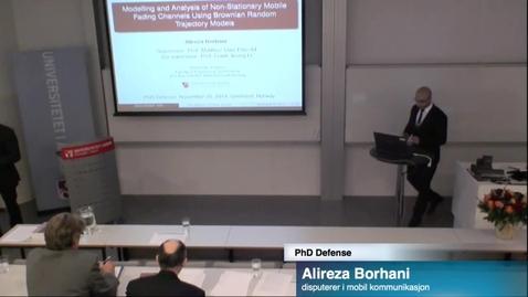 Thumbnail for entry PhD Defense Alireza Borhani