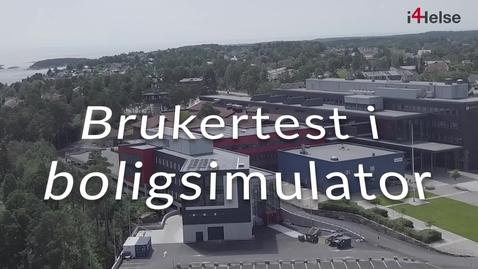 Thumbnail for entry I4Helse - Brukertest boligsimulator