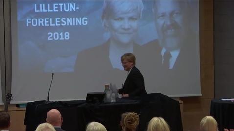 Thumbnail for entry Lilletunforelesningen 2018 - Kristin Halvorsen