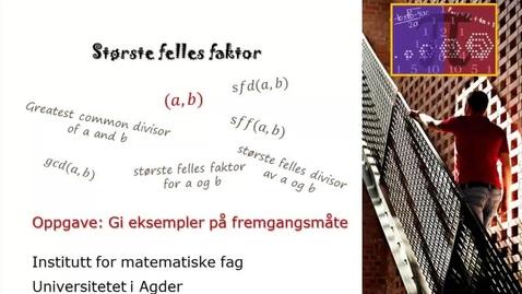 Thumbnail for entry SFF-Gi eksempler på fremgangsmåte