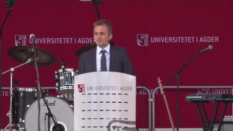Thumbnail for entry Pål Harv - leder i SiA taler i Kristiansand