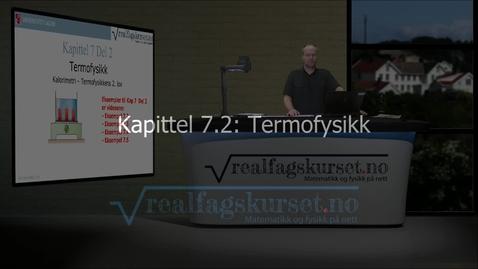 Thumbnail for entry Kapittel 7.2: Termofysikk