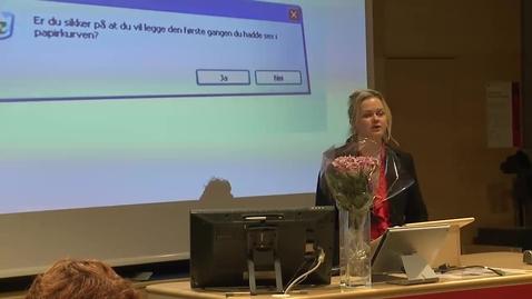 Thumbnail for entry Likestillingskonferansen 2012 - «Sex i kristne miljøer»
