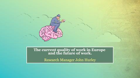 Thumbnail for entry Keynote speaker John Hurley