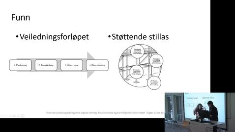 Thumbnail for entry Seminar om veiledningsteknologi_2_del_2
