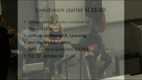 Thumbnail for entry Lilletunforelesningen 2010