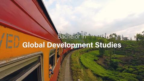 Thumbnail for entry Global Development Studies - bachelor