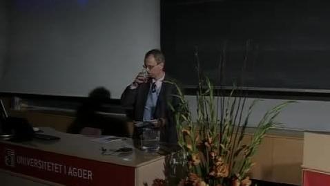 Thumbnail for entry Sørlandsk lærerstevne 2010 - Åpningsforedrag ved Henrik Syse