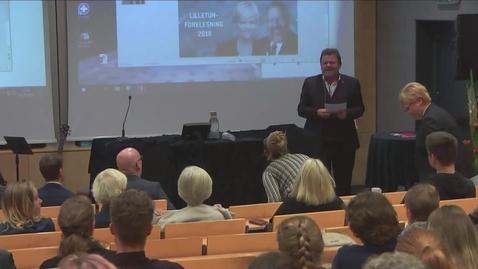 Thumbnail for entry Lilletunforelesningen 2018 - Fount Leron Shults
