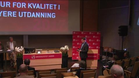 Thumbnail for entry Paneldiskusjon med NSO, NOKUT og NTNU