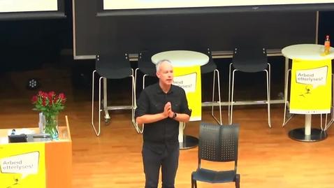 Thumbnail for entry Arbeid og integrering – to sider av samme sak- ved Jon Rogstad
