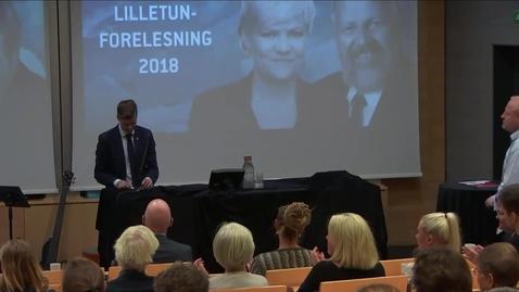 Thumbnail for entry Lilletunforelesningen 2018 - Knut Arild Hareide
