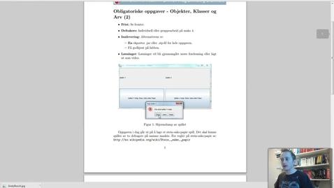 Thumbnail for entry Solution Oblig 8