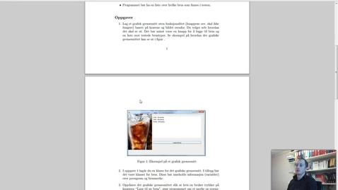 Thumbnail for entry Solution Oblig 10