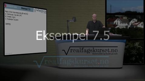 Thumbnail for entry Eksempel 7.5