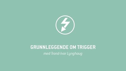 Thumbnail for entry Oscilloskop 14 - Grunnleggende om Trigger