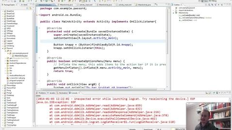 Thumbnail for entry Android-Prosjekt med enkel GUI