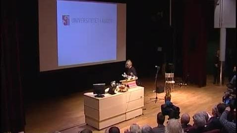Thumbnail for entry Torunn Lauvdal avslutter 2008
