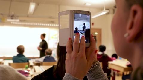 Thumbnail for entry MOSO: Ny app för handledning av lärarstudenter stärker utbildningen