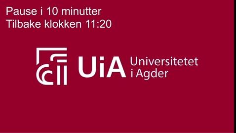 Thumbnail for entry BEDRE BRUK AV HELSEDATA FOR EN LÆRENDE HELSETJENESTE