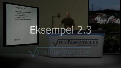 Thumbnail for entry Eksempel 2.2.3
