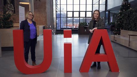 Thumbnail for entry Mangfoldsuka - rektor Sunniva Whittaker og Olea Norset i STA - 11. jan. 2021