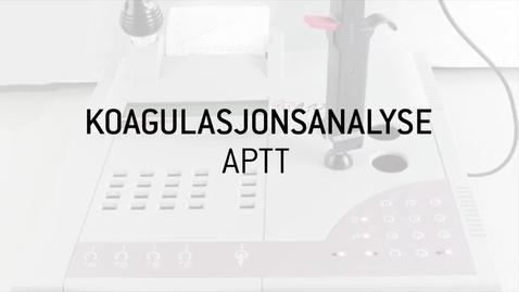 Thumbnail for entry 9. APTT Analyse