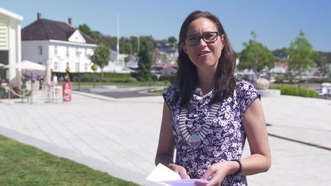 Thumbnail for entry Ordfører i Grimstad - Beate Skretting - studiestart 2020