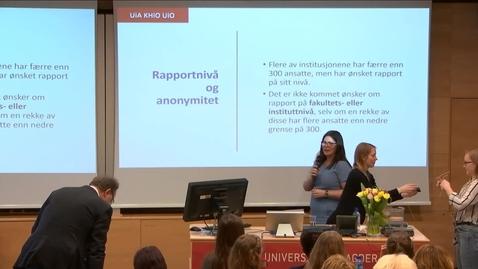 Thumbnail for entry 5. Seksuell trakassering i studietiden - Benedicte Nordlie
