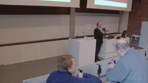 Thumbnail for entry Strategiprosessen 2016-2020 - presentert 28 jan. 2016, Campus Grimstad