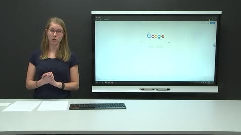 Thumbnail for entry Google i klasserommet