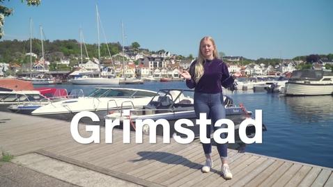 Thumbnail for entry Bli kjent med studentbyen din: Grimstad