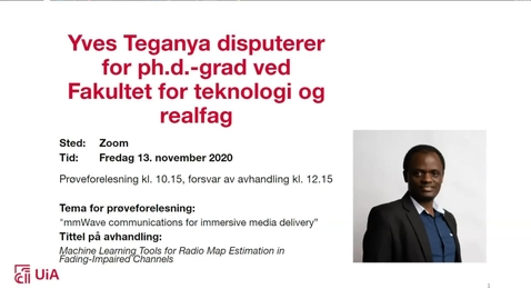 Thumbnail for entry Disputas Yves Teganya