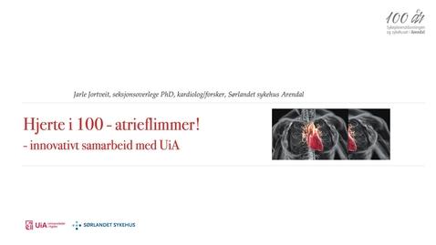 Thumbnail for entry Film 3: Med hjertet i 100 – arterieflimmer