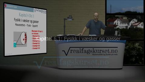 Thumbnail for entry Kapittel 6.1 - Fysikk i vasker og gasser