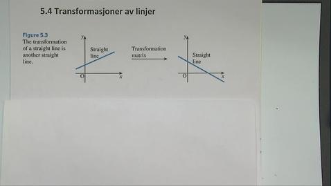 Thumbnail for entry Kapittel 12 5.4 Transformasjoner av linjer