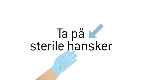 Thumbnail for entry Ta pa_ sterile hansker