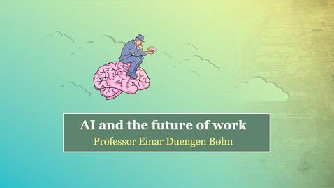 Thumbnail for entry Perspective: Einar Duengen Bøhn
