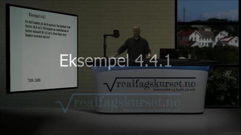 Thumbnail for entry Eksempel 4.4.1
