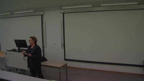 Thumbnail for entry Seminar om veiledningsteknologi_1_del_1