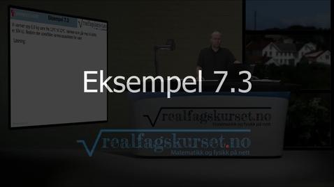 Thumbnail for entry Eksempel 7.3