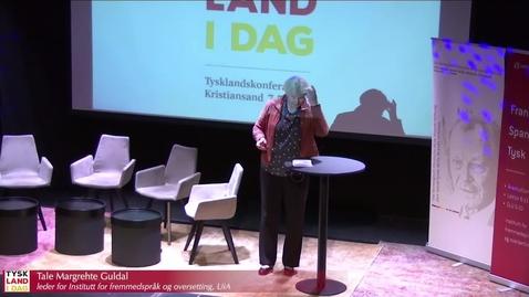 Thumbnail for entry Foredrag av statssekretær Rebekka Borsch