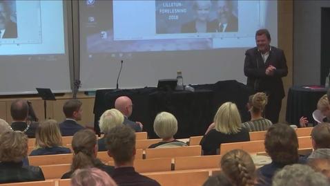 Thumbnail for entry Lilletunforelesningen 2018 - Kristin Halvorsen kommenterer