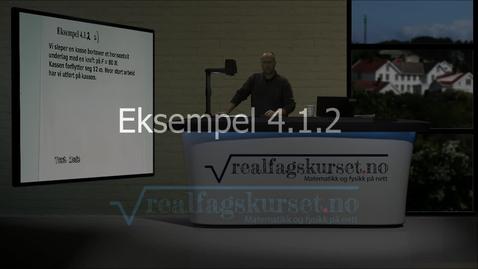 Thumbnail for entry Eksempel 4.1.2