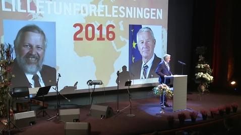 Thumbnail for entry Torbjørn Jaglands minneforelesning 2016